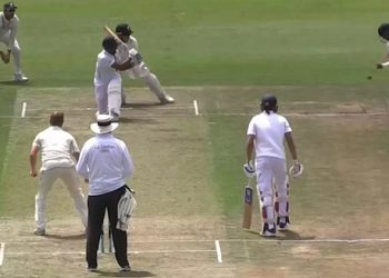 Hanuma Vihari's dismissal earlier in the game.