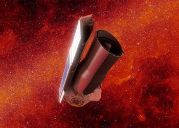 NASA said good bye to Spitzer telescope