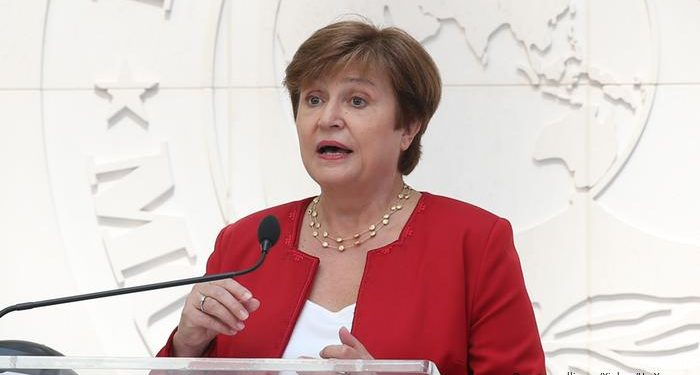 Kristalina Georgieva. File pic