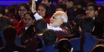 Prime Minister Narendra Modi at 'Pariksha Pe Charcha'