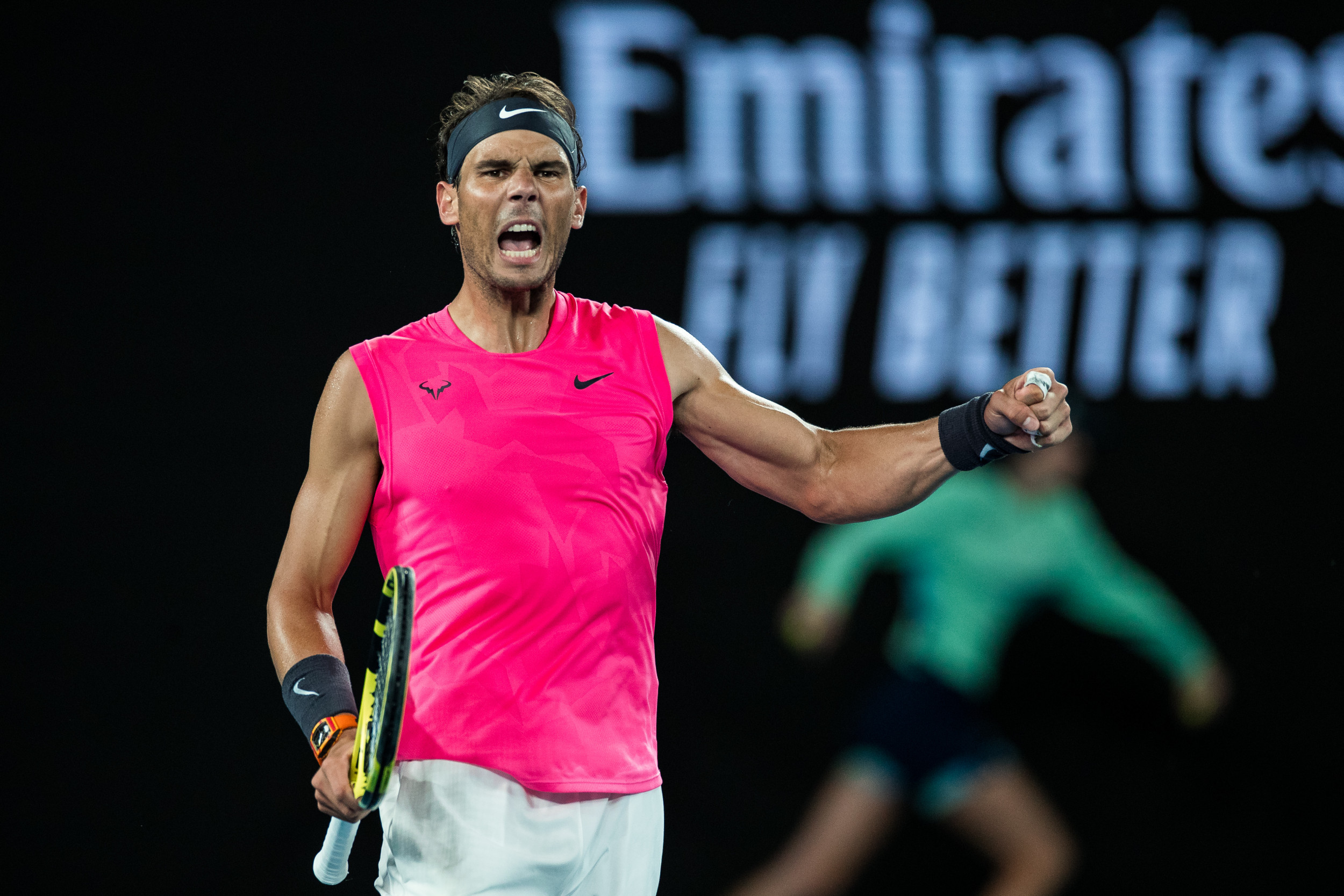 Australian Open Ruthless Nadal Crushes Busta To Reach