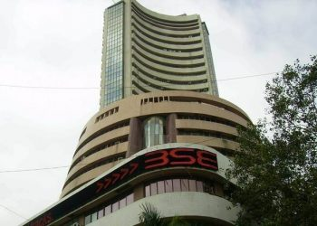 After hitting a low of 40,476.55, the 30-share BSE index pared some losses to trade 193.98 points or 0.47 per cent lower at 40,675.49.