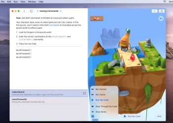 Apple launches Swift Playgrounds app for Mac