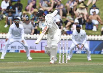 Wellington: New Zealand's Kane Williamson bats against India during the first cricket test between India and New Zealand at the Basin Reserve in Wellington, New Zealand, Saturday, Feb. 22, 2020.