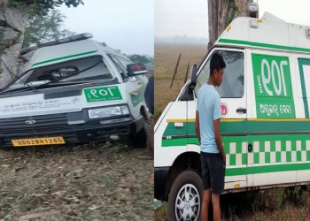 3 injured in Balasore as 108 ambulance runs into tree