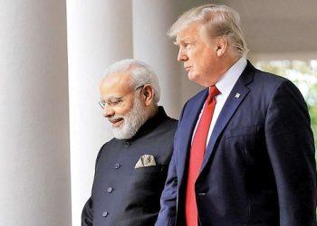 PM Narendra Modi with US President Donald Trump (File Photo)