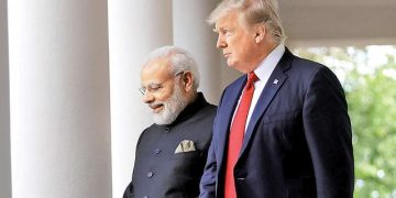 PM Narendra Modi with US President Donald Trump (File Photo)