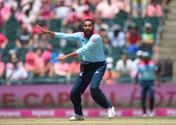 Adil Rashid claimed three wickets for 51 runs