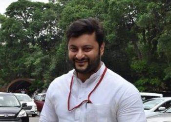 File photo of MP Anubhav Mohanty