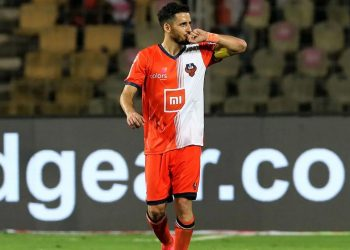 Ferran Corominas was one of the goalscorers for FC Goa against Jamshedpur FC