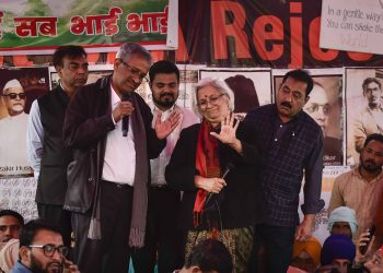 Supreme Court appointed interlocutors speak to protesters at Shaheen Bagh