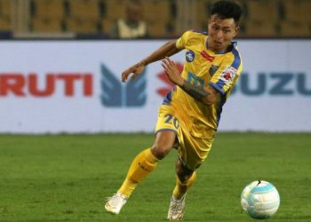 Jackichand Singh scored one of the goals for FC Goa against Mumbai City FC