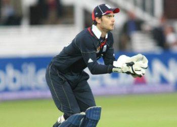 English wicketkeeper-batsman James Foster