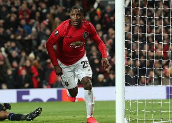Odion Ighalo scored the first goal for Manchester United