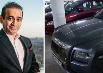 Nirav Modi and his Rolls Royce Ghost