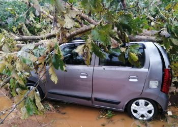Thunderstorm wreaks havoc in Phulbani, Bolangir