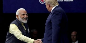 File photo of PM Narendra Modi with US President Donald Trump (Photo: Reuters/Jonathan Ernst)