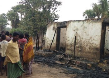Seven houses gutted in Puri