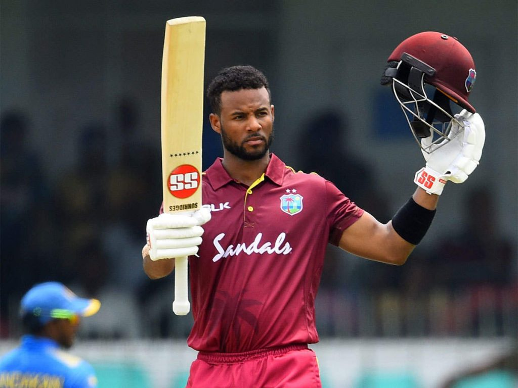 Shai Hope West indies player