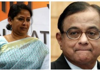 Sharmistha Mukherjee and P Chidambaram