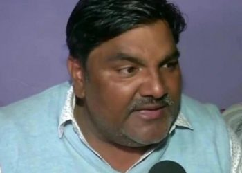File pic of AAP leader Tahir Hussain (Twitter)