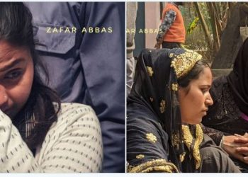 A hindu woman and two muslim women grieving the death of their beloved ones during Delhi riots