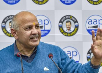 Manish Sisodia Talks to the media, Wednesday