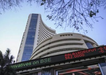 Sensex declines over 250 pts in early trade; Nifty tests 11,850