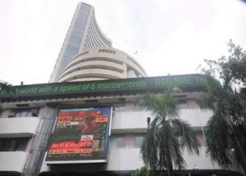 Sensex surges over 700 pts; Nifty tops 8,400 level