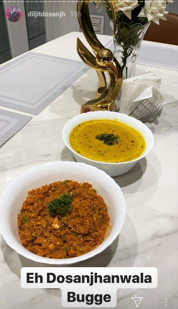 Lockdown diaries: Diljit Dosanjh flaunts his culinary skills