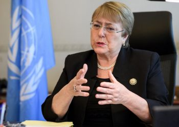 United Nations High Commissioner for Human Rights Michelle Bachelet (Photo: Reuters)