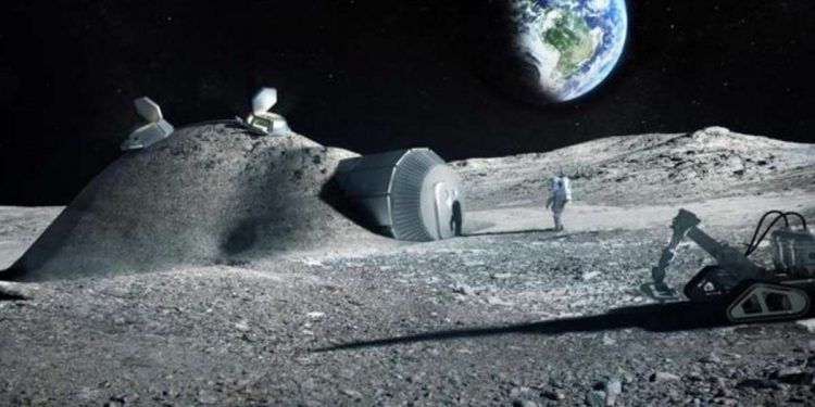 Astronauts' urine can help build moon bases for journey to Mars