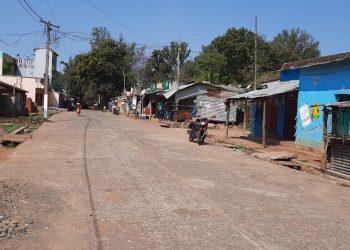 Daringbadi: Corona fear forces people to stay indoors