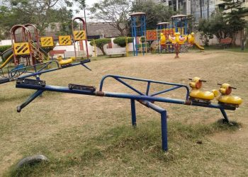 Silk City's Gandhi Park cries for admin's attention