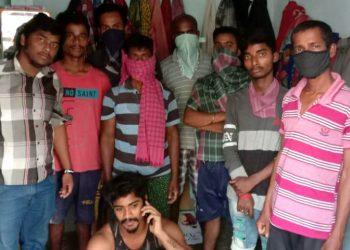Odia labourers stuck in Telangana seek government's help to return