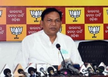 Leader of Opposition in Odisha Assembly Pradipta Kumar Naik