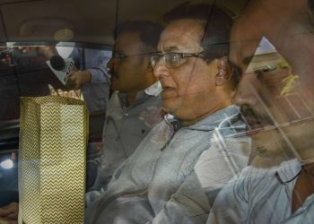 Rana Kapoor after his arrest by the ED