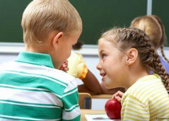 Chatty kids score good marks in school