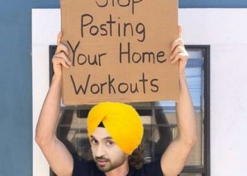 Diljit Dosanjh hilariously requests people to stop posting workout videos amid COVID-19