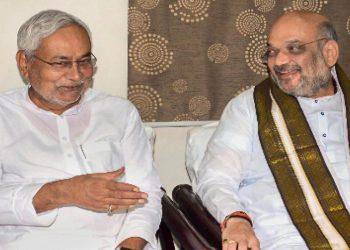 Nitish Kumar meets Amit Shah Friday late evening