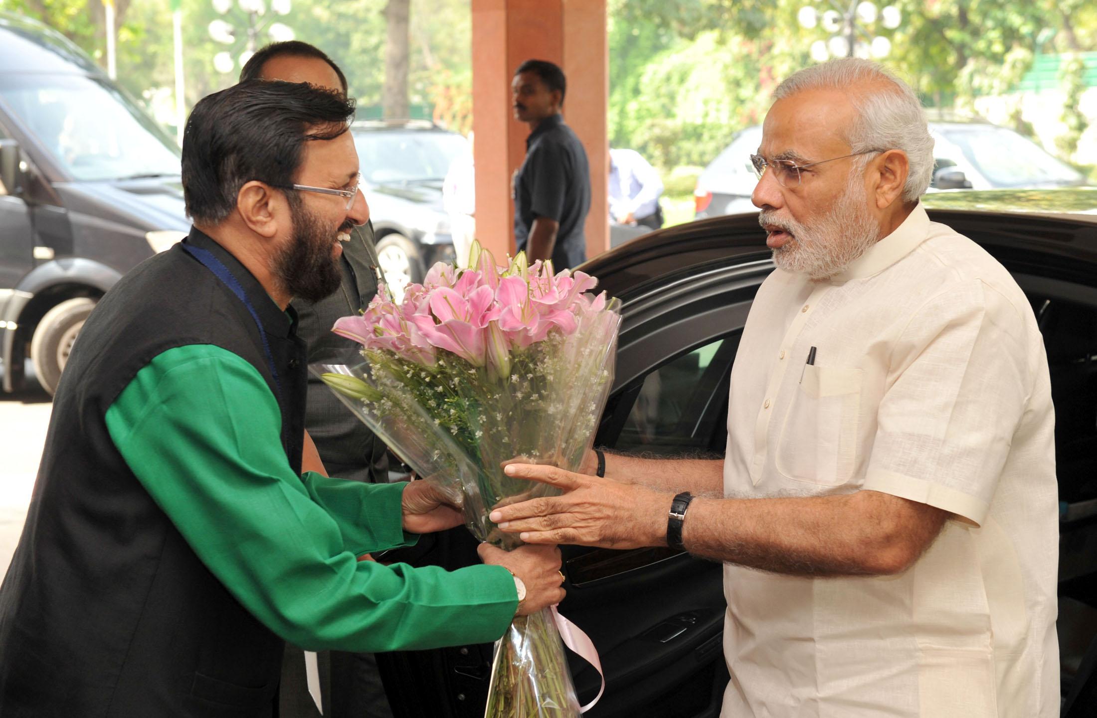 Not a single bomb blast under PM Modi's watch, says Javadekar a ...