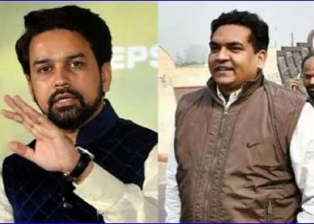 Anurag Thakur (left) and Kapil Mishra.