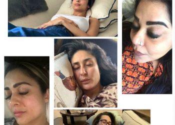 Kareena Kapoor Khan, Karisma Kapoor and Malaika Arora 'nap together' in self-quarantine