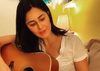 COVID- 19: Katrina Kaif turns musician during quarantine