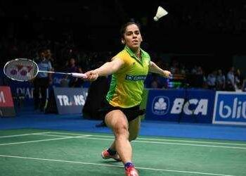It was Saina Nehwal's third first-round loss in five tournaments this year
