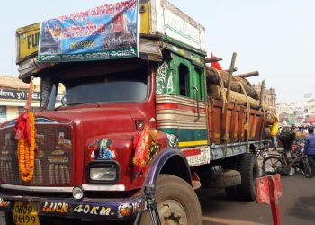 Third consignment of timbers for Rath Yatra chariot construction reach Puri