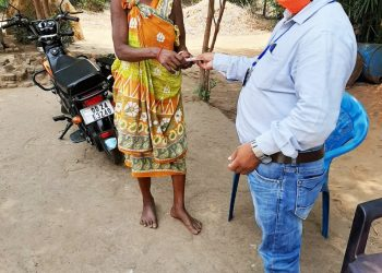 Old-age pension reaches beneficiaries' doorsteps in Nabarangpur