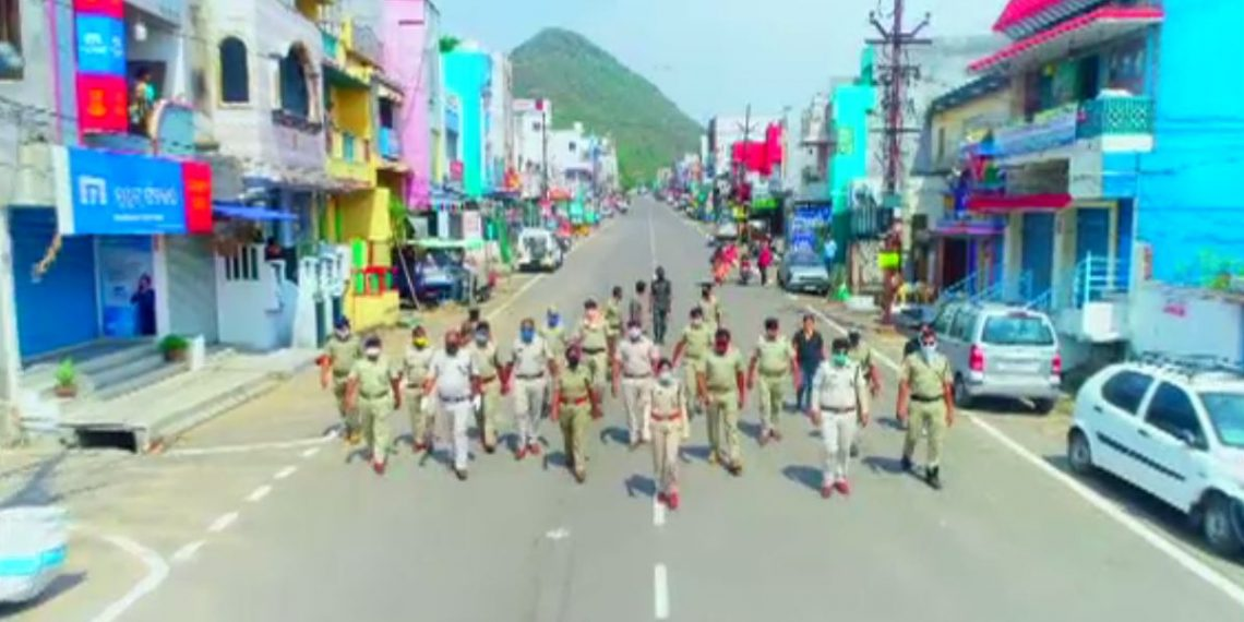 Gajapati cops release video to raise awareness on COVID-19
