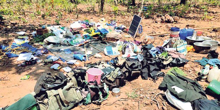 Police, Maoists exchange fire in Malkangiri