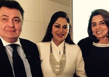 Simi Garewal pens an emotional note for 'playmate' Rishi Kapoor